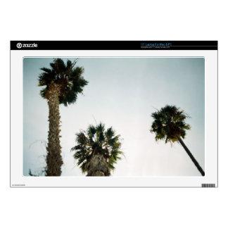"California Palm Trees 17"" Laptop Skin"