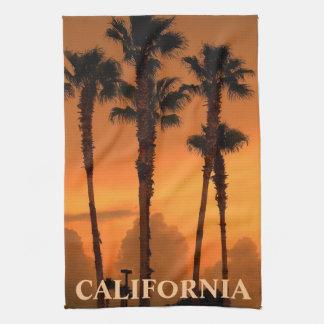 California Palm Trees Gold Coast MoJo Kitchen Towe Towel
