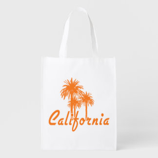 California Palm Trees Grocery Bag