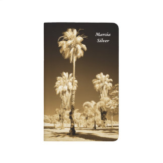 California Palm Trees Infrared Magnet Journal