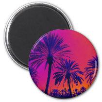 California Palm Trees Orange County Magnet