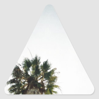 California Palm Trees Triangle Sticker