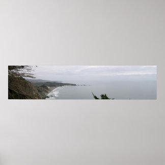 California Panoramic 12 Poster
