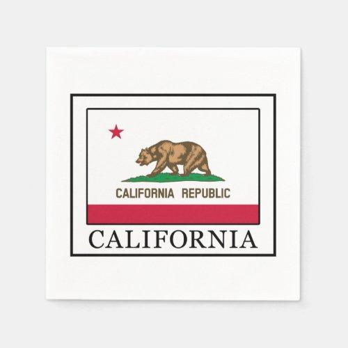 California Paper Napkins