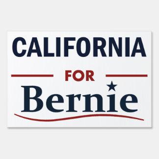 California para Bernie Señal