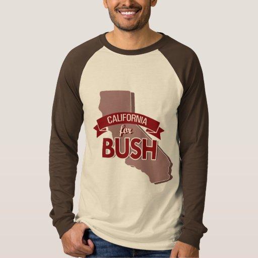 CALIFORNIA PARA BUSH - .PNG REMERAS