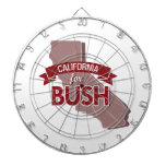 CALIFORNIA PARA BUSH - .PNG TABLA DARDOS