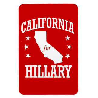 CALIFORNIA PARA HILLARY CLINTON IMAN DE VINILO