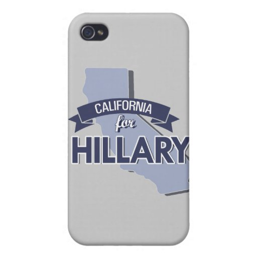 CALIFORNIA PARA HILLARY - .PNG iPhone 4/4S FUNDA