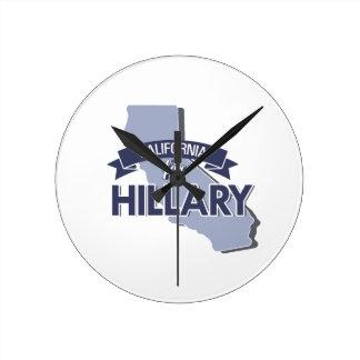 CALIFORNIA PARA HILLARY - .PNG RELOJ