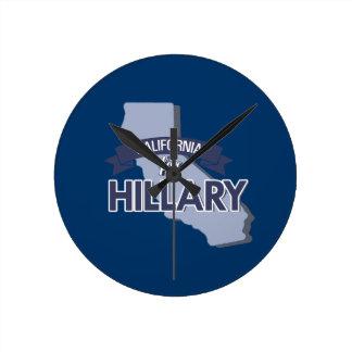 CALIFORNIA PARA HILLARY - .PNG RELOJES DE PARED
