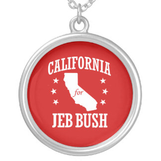 CALIFORNIA PARA JEB BUSH COLGANTE REDONDO