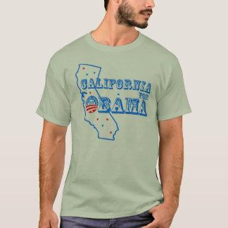 California para Obama 2012 Playera