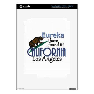 CALIFORNIA PEGATINA SKIN PARA iPad 3