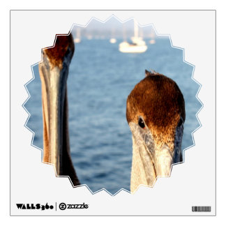 California Pelicans Wall Sticker