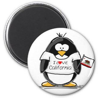 California Penguin Fridge Magnets