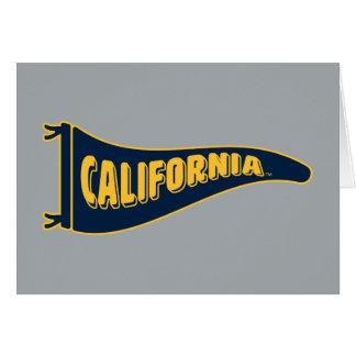 California Pennant | Cal Berkeley 5 Card