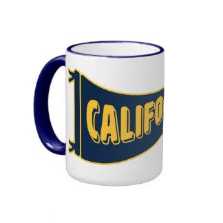 California Pennant   Cal Berkeley Ringer Mug
