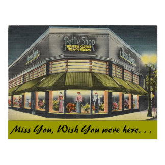 California, Petite Shop Post Cards