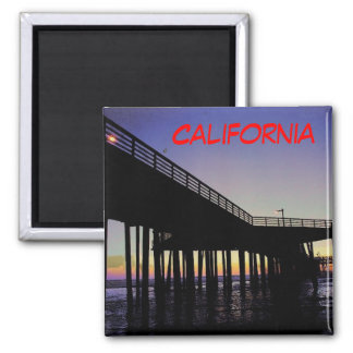 California Pier Magnet - Customized
