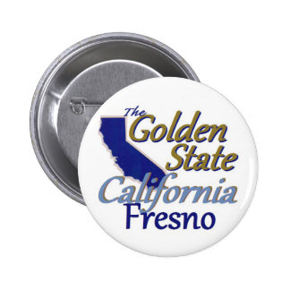 CALIFORNIA PIN REDONDO DE 2 PULGADAS