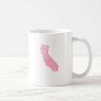 California Pink Vintage Grunge Coffee Mug