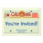 California Plates Announcements