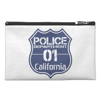 California Police Department Shield 01 Travel Accessory Bags