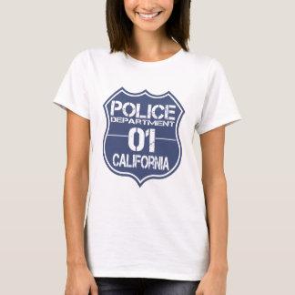 California Police Department Shield 01 T-Shirt