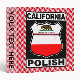 California Polish American Binder