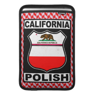 California Polish American iPad Cover