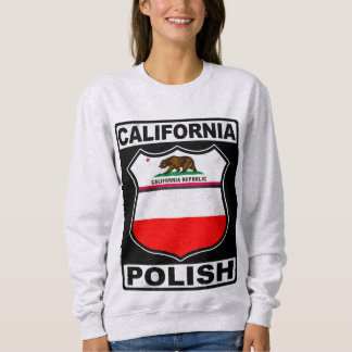 California Polish American Sweatshirt
