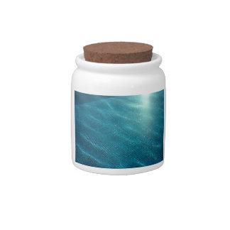 California Pool Candy Jar