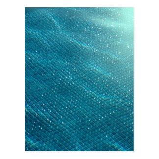 California Pool Postcard