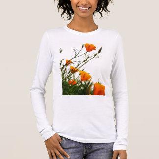 California Poppie Long Sleeve T-Shirt
