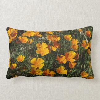 California Poppies American MoJo Pillow