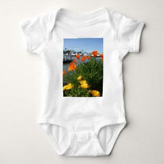 California Poppies Baby Bodysuit