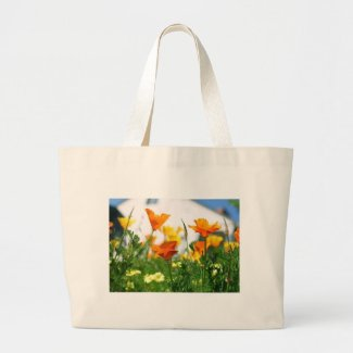 California Poppies bag