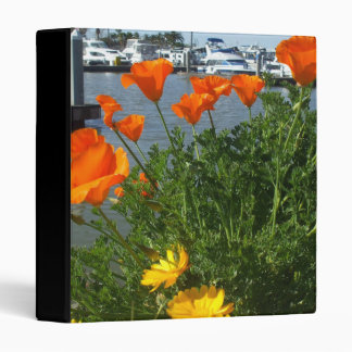 California Poppies Binder