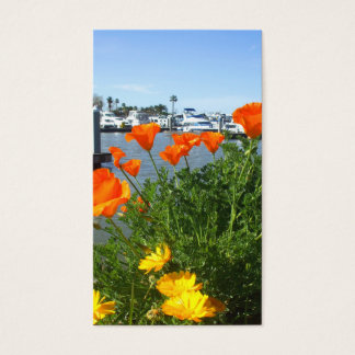 California poppies business cards