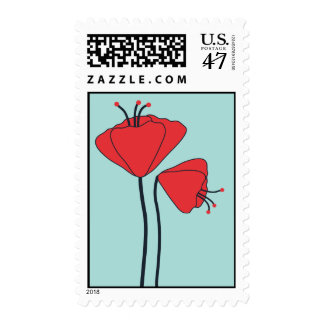 California Poppies by Delphine Postage