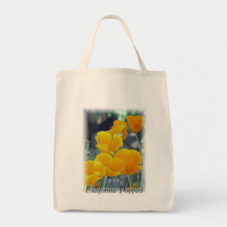 California Poppies Eco-Friendly Grocery Bag
