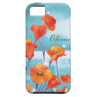 California Poppies Floral iPhone 5 Case-Mate Vibe iPhone SE/5/5s Case