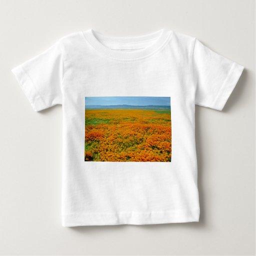 California poppies in full bloom flowers infant t-shirt
