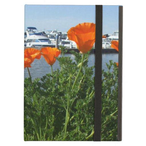 California Poppies iPad Folio Case