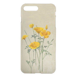 California Poppies iPhone7 Plus Clear Case