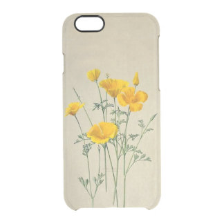 California Poppies iPhone 6/6S Clear Case