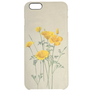 California Poppies iPhone 6/6S Plus Clear Case