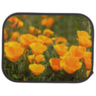 California poppies, Montana de Oro State Park Car Floor Mat