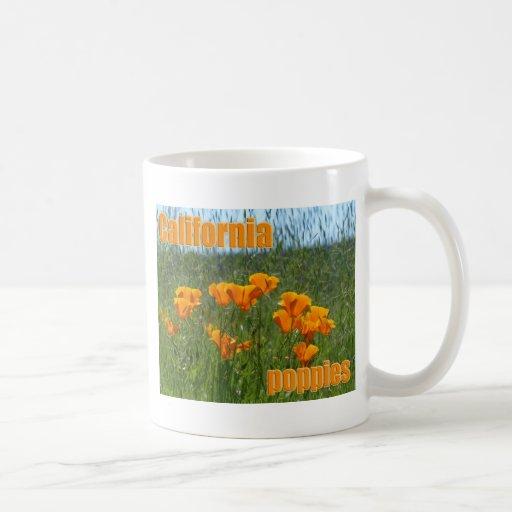 California Poppies Mugs